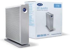 HD Externo Lacie D2 Quadra 2 TB
