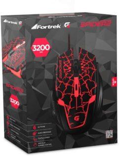 Mouse Gamer Spider 2 OM705 Fortrek