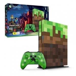 Console Xbox One S 1TB Edição Minecraft