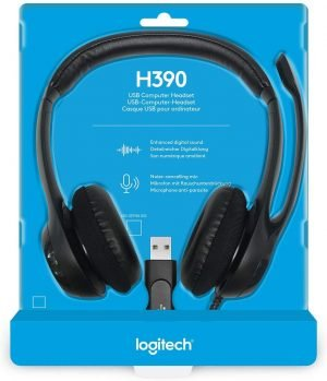 Headset Gamer Logitech H390