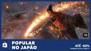 Nova Promoção Playstation Store: Popular no Japão