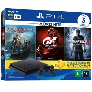 Console PlayStation 4 Slim 1TB Hits Bundle 4