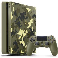 Console Playstation 4 Slim 1TB Edição COD WWII