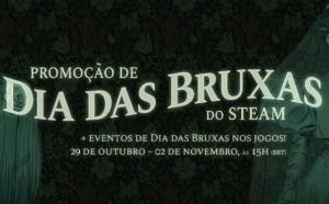 Promoção de Dia das Bruxas - Steam