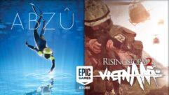 Rising Storm 2 Vietnam e ABZU de graça na Epic Games - PC