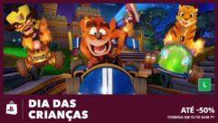 Promoção na Playstation Store - Dia das Crianças