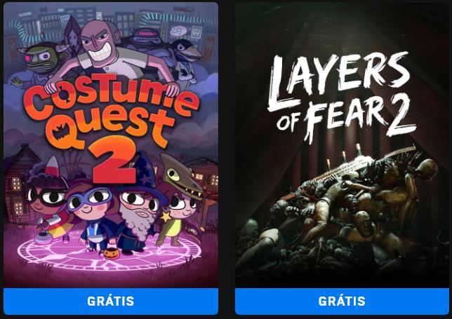 Layers of Fear 2 e Costume Quest 2 de graça na Epic Games