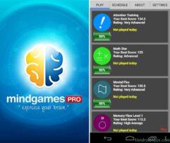 Jogo Mobile Mind Games Pro - Android
