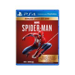 Marvels Spider-Man Edição Game do Ano - PS4
