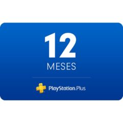 Assinatura Playstation Plus - 12 Meses