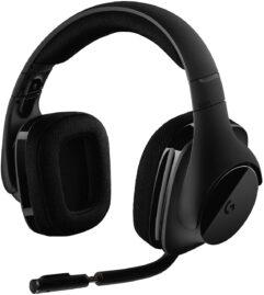 Headset Gamer Sem Fio Logitech G533