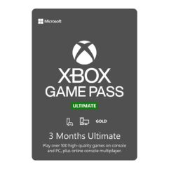 Gift Card Digital Xbox Game Pass Ultimate 3 meses