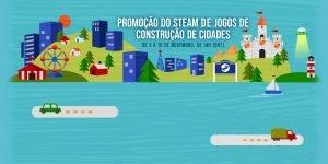 Promoção Steam Jogos de construção de cidades