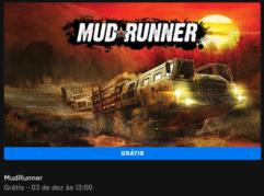 MudRunner de graça na Epic Games