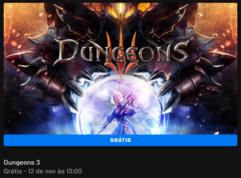 Dungeons 3 de graça na Epic Games para PC