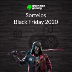 Sorteios GameGratis - Black Friday 2020