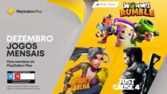 Jogos Grátis para membros PlayStation Plus em dezembro 2020