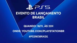 Sorteio PS5 da Playstation Brasil