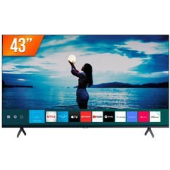 "Smart TV LED 43"" Ultra HD 4K Samsung Crystal 2"