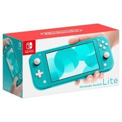 Console Nintendo Switch Lite Turquesa Bivolt