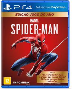 Marvels Spider-Man - Edição Jogo do Ano - PS4