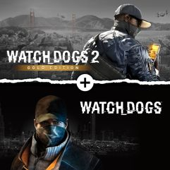 Watch Dogs 1 + Watch Dogs 2 Gold Editions Bundle - Xbox One