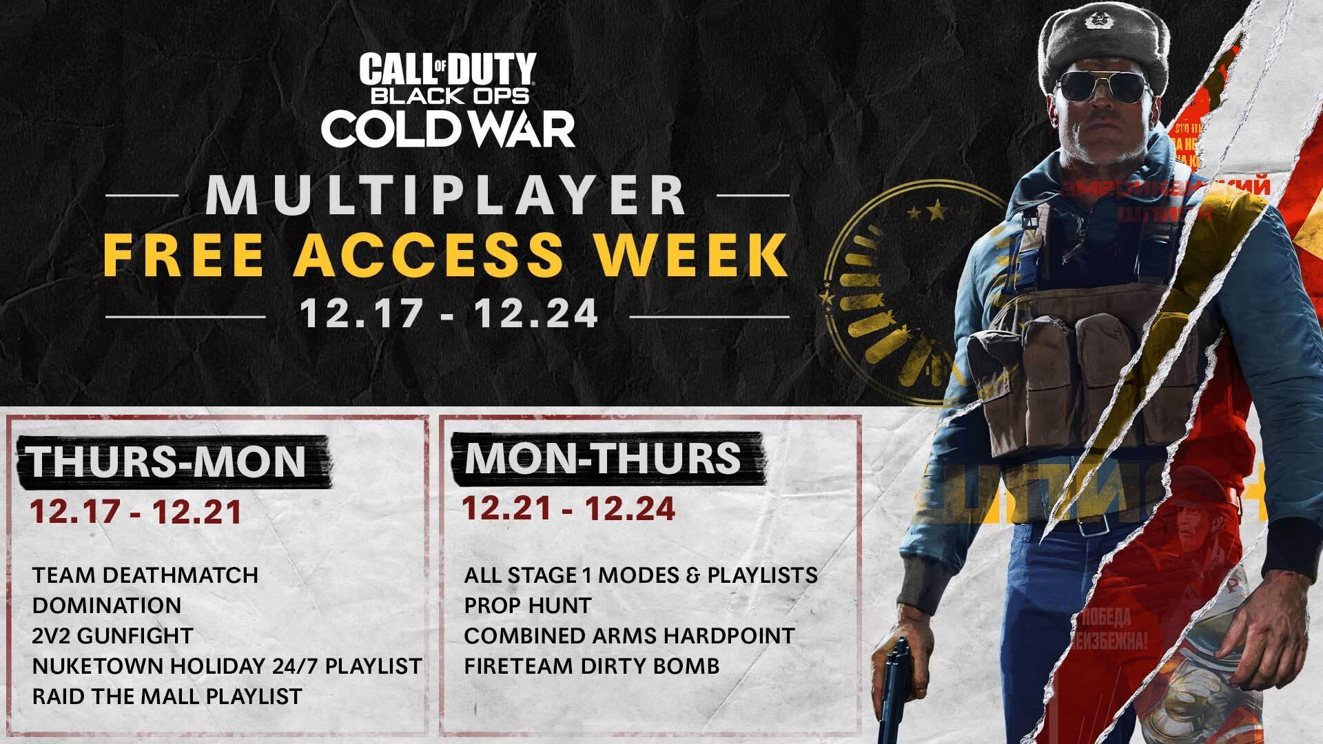 Jogue de graça por uma semana o multiplayer de Call of Duty: Black Ops Cold War