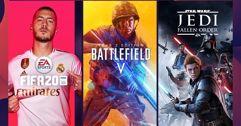 Promoção Games Origin Action Sale