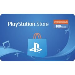 Gift Card Digital Playstation Store de R$ 100 com Cashback