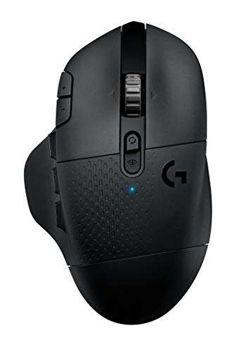 Mouse Gamer Sem Fio Logitech G604 com 20 Botões Programáveis e Sensor HERO 16K