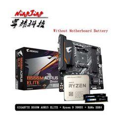 Combo AMD ryzen 9 3900x + Placa mãe B550M Aorus Elite + Memoria RAM
