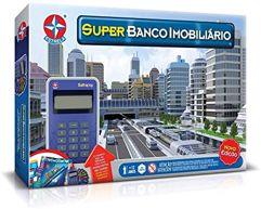 Jogo Super Banco Imobiliário - Brinquedos Estrela