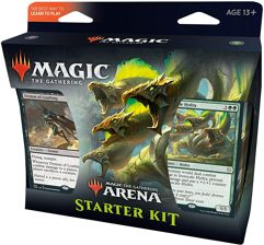 Kit Inicial de Magic. The Gathering Arena, 2 Decks de Iniciante, Card de código de MTG Arena