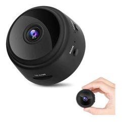 Mini Câmera Remota Wifi Portátil Visão Noturna