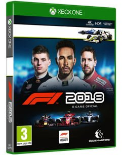 Jogo Formula 1 2018 - Xbox One