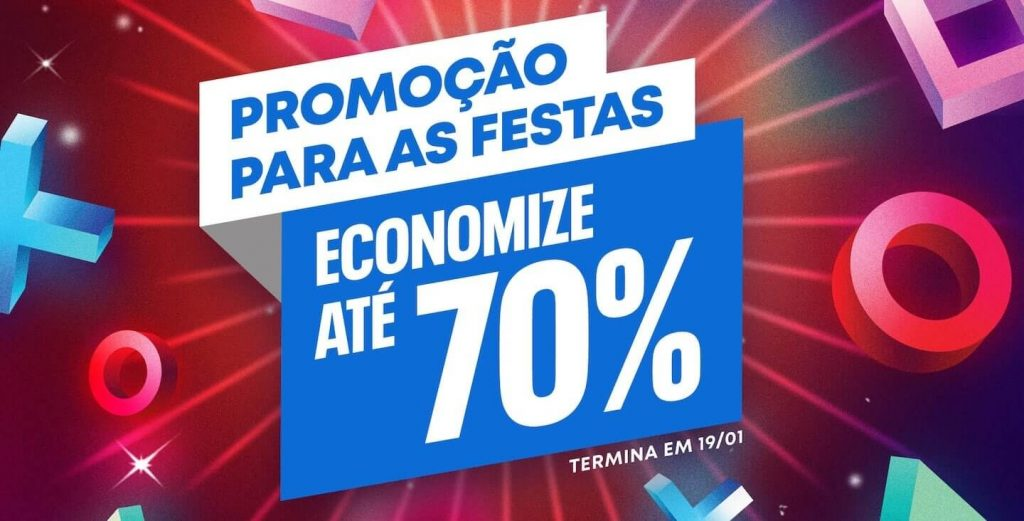 promocao para as festas ps store