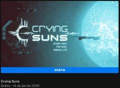 Crying Suns de graça para PC na Epic Games