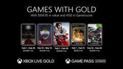 Games with Gold no Xbox em Fevereiro de 2021