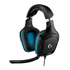Headset Gamer Logitech G432 7.1 para PC, PlayStation, Xbox e Nintendo Switch