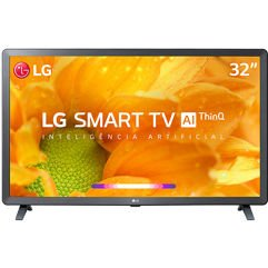"Smart TV LED 32"" LG HD Thinq AI Conversor Digital Integrado 3 HDMI Wi-Fi"