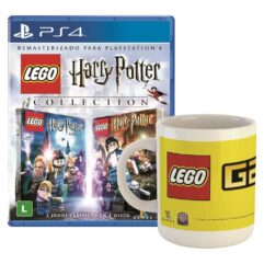 Game Lego Harry Potter Collection + Caneca LEGO - PS4