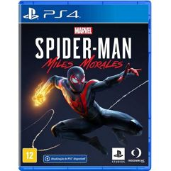 Jogo Marvels Spider-Man: Miles Morales - PS4