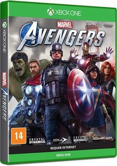 Game Marvels Avengers - Xbox One e Series – Mídia Digital