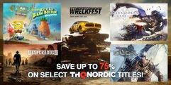 Promoção de jogos da THQNordic