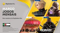 Jogos para membros Playstation Plus em Março: