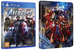 Jogo Marvel's Avengers + Steelbook - PS4