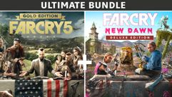 Ultimate Bundle Far Cry 5 Gold Edition + Far Cry New Dawn Deluxe Edition - PC
