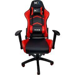 Cadeira Gamer MX5 Giratoria Preto/Vermelho - MYMAX