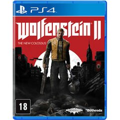 Jogo Wolfenstein 2 : The New Colossus - PS4