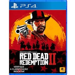 Jogo Red Dead Redemption 2 para PS4